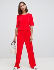 Minimum clean jumpsuit-Red